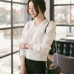 CHICLINE - V-Neck Sweater