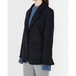 Someday, if - Single-Breasted Wool Blend Jacket