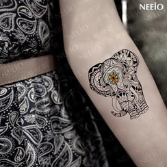Neeio - Waterproof Temporary Tattoo (Elephant)