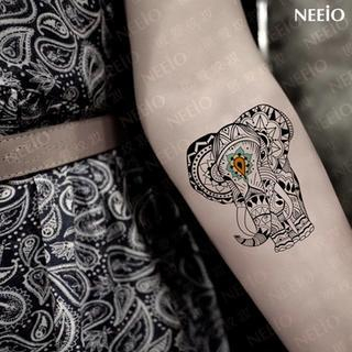 Neeio waterproof temporary tattoo elephant yesstyle for Temporary elephant tattoo
