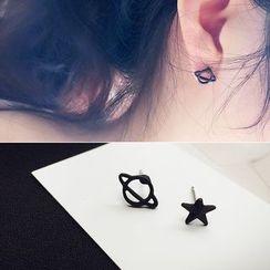 Jael - Galaxy Non-Matching Earrings