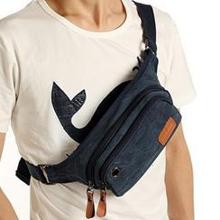Moyyi - Canvas Waist Bag