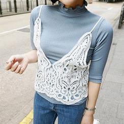 Wild Ivy - Lace Camisole Top