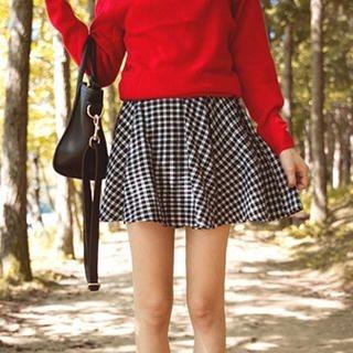 Tokyo Fashion - Plaid A-Line Skirt