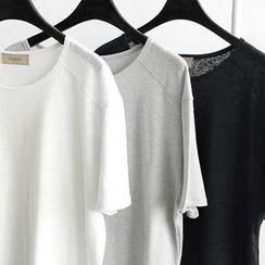 NANING9 - Crew-Neck T-Shirt