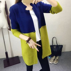 Sienne - Color Block Knit Jacket