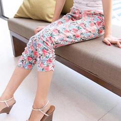 Tokyo Fashion - Floral Capri Pants