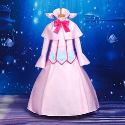 Coshome - Fairy Tail Mavis Vermilion Cosplay Costume