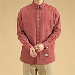 THE COVER - Pocket-Front Checked Shirt