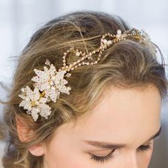 Neostar - Bridal Faux Pearl Hairband