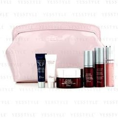 Christian Dior - Capture Totale Set: Treatment Mask + Super Serum +  Eyes Essential + Lip Maximizer #001 + Base + Recovery + Bag