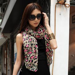 SO Central - Leopard Print Scarf