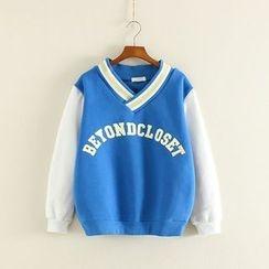 Mushi - Lettering Thick Sweatshirt