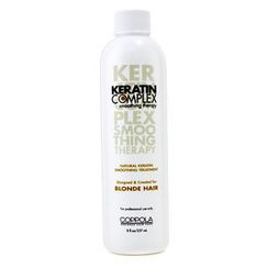 Keratin Complex - Natural Keratin Smoothing Treatment  (For Blonde Hair)