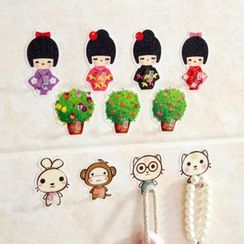 Home Simply - Cartoon Wall Hook (4 pcs)