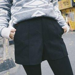 Kuki Cat - Embroidered Shorts