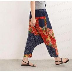 SO Central - Patchwork Harem Pants