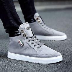 Vida Rooney - High-Top Printed Sneakers