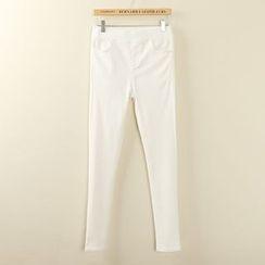 Tangi - Band Waist Skinny Pants