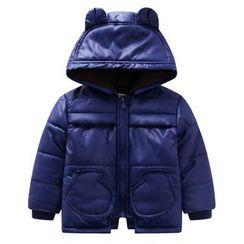 Endymion - Kids Plain Hooded Padded Coat