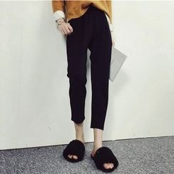 Kojasmine - Slim-Fit Cropped Pants