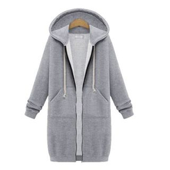 Coronini - Zip Long Hoodie Jacket