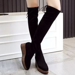 JY Shoes - Over-the-Knee Platform Boots