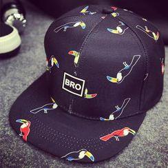 BYME - 大嘴鳥印花棒球帽