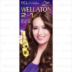 Wella - Wellation 2 + 1 Cream Hair Color (#7CL)