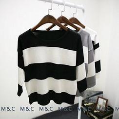 Maymaylu Dreams - Stripe Sweater