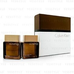 Calvin Klein 卡爾文克來恩 - Euphoria Intense Coffret: Eau De Toilette Spray 100ml/3.4oz + After Shave 100ml/3.4oz