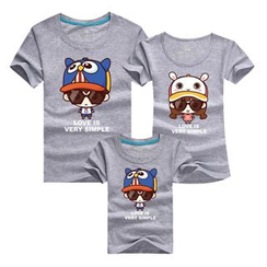 Panna Cotta - Family Matching Short-Sleeve Print T-Shirt