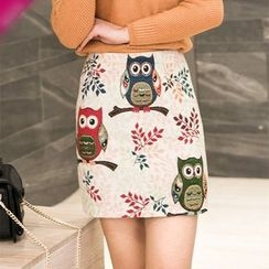 Loverac - Owl Hip Skirt