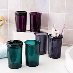 LOML - Set: Toothbrush Holder + Toothbrush Cup