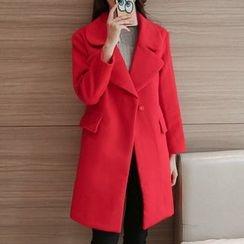 Queen Bee - Wool Blend Coat