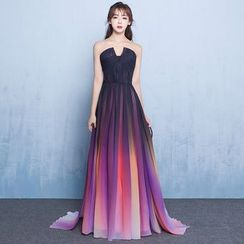 KAKAGA - Ombre Evening Gown