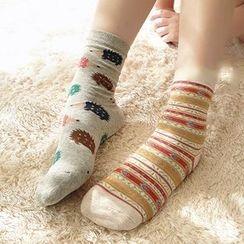 NANA Stockings - Set of 2: Animal Socks