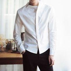 JORZ - Plain Asymmetric Shirt