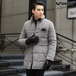 DANGOON - Contrast-Trim Quilted Jacket