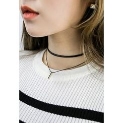 INSTYLEFIT - Layered Choker Necklace