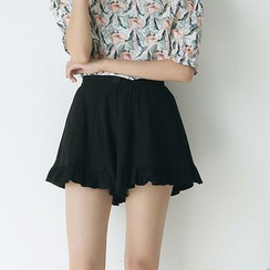 Sens Collection - Frill Trim Shorts