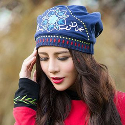 Salisha - Embroidered Hat