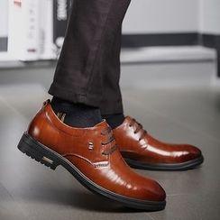 MARTUCCI - Genuine-Leather Oxfords