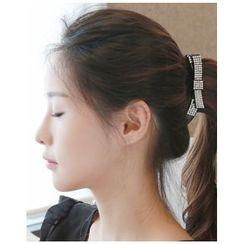 Miss21 Korea - Rhinestone Hair Clamp (3 Designs)