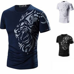 Fireon - Print Short-Sleeve T-Shirt