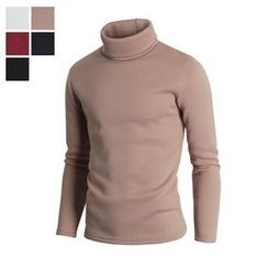 DANGOON - Turtle-Neck Brushed-Fleece Lined Pullover