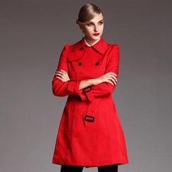 Le Teresa - Double-Breasted Trench Coat