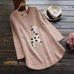 YOYO - Appliqué Long Sweater