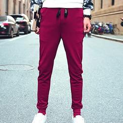 Blueforce - Drawstring Slim-Fit Pants