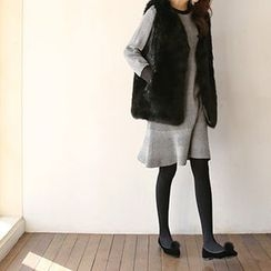 Hello sweety - Faux-Fur Vest